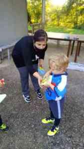 Scuola calcio, la Valle Titernina consegna mascherine a tutti gli allievi