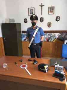 Detenzione illegale di armi e munizioni, sequestro e denuncia dei Carabinieri a Montemarano.
