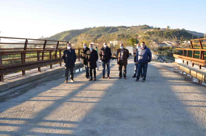 Il ponte sull'Ufita sarà riaperto al traffico entro dicembre (FOTO)