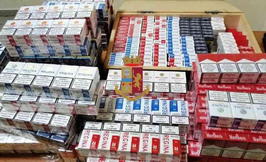 Napoli, sequestrati circa 19 kg di sigarette di contrabbando