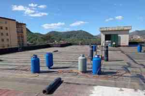 Al Liceo Rescigno di Roccapiemonte conclusi i lavori di impermeabilizzazione