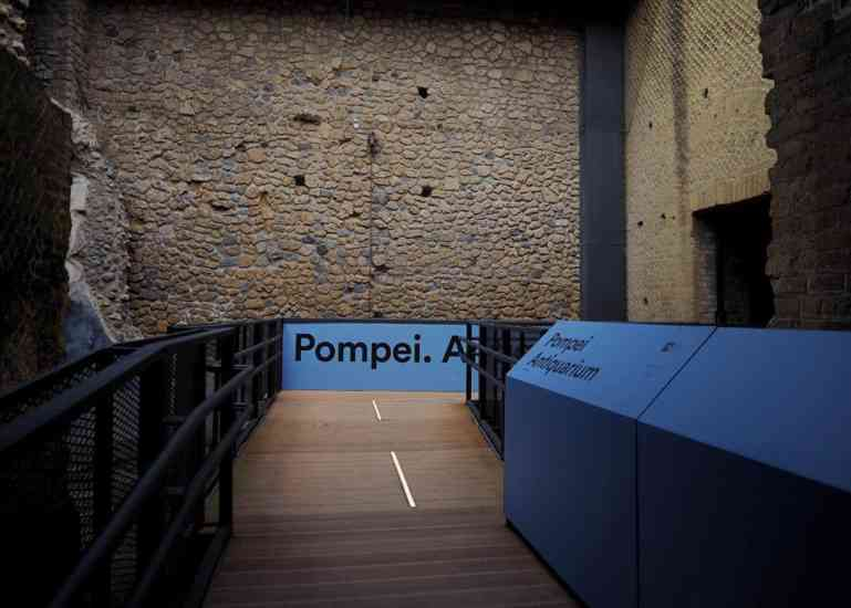 Inaugurato l'Antiquarium di Pompei: il museo permanente della città