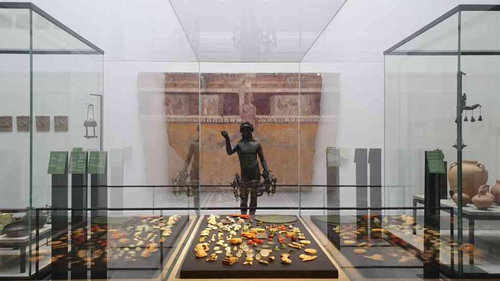 Pompei, il 25 gennaio inaugura l'Antiquarium: esposizione permanente di reperti