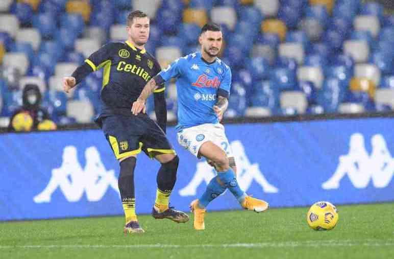 Napoli-Parma 2-0: azzurri concreti