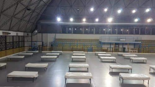 Salerno, si prepara il centro accoglienza per l'emergenza freddo