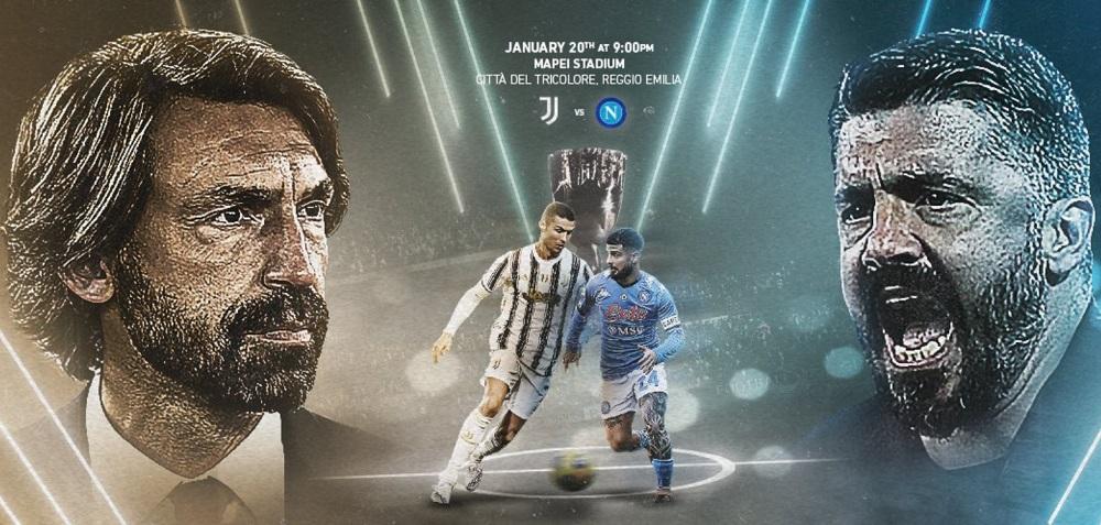 Supercoppa Italiana, Juventus Napoli: le formazioni ufficiali