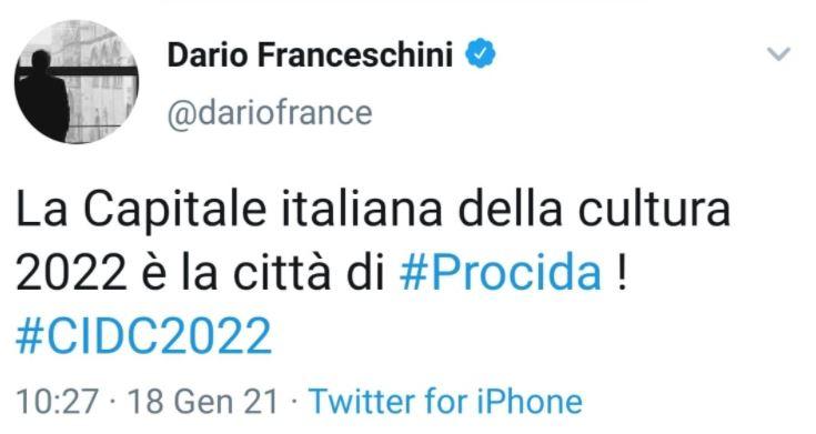 Ha vinto Procida: sarà Capitale Italiana della Cultura nel 2022