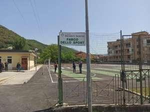 Mercato San Severino, inaugurato il parco dello Sport (FOTO)