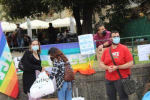 CivicA in piazza per il Ddl Zan, mobilitazione anche a Benevento