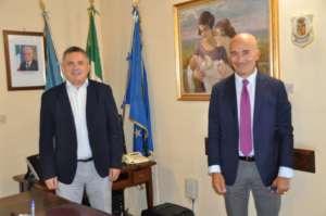 Provincia di Benevento, il presidente Di Maria riceve la visita del nuovo Questore